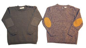 Suéter con coderas que dan un toque original a cualquier look.  www.yosolito.es