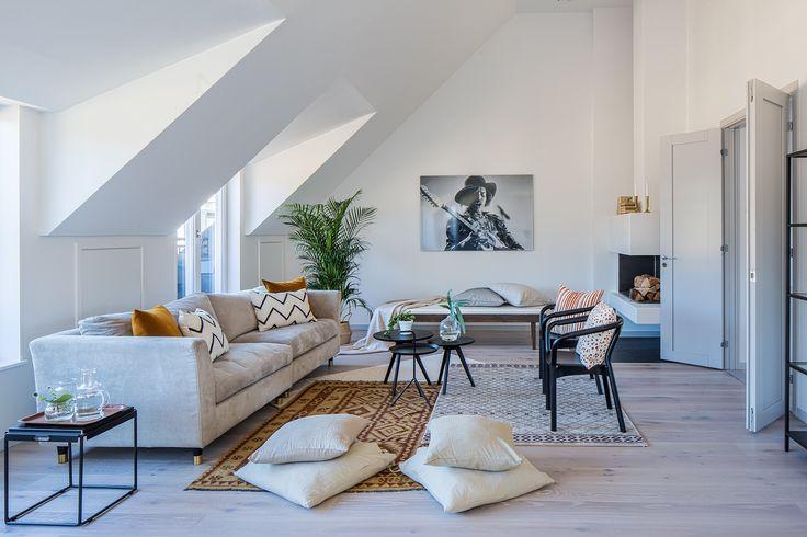 Lagerlings - Regeringsgatan 86 - Exklusv nyproducerad vindsvåning med terrasser - Våra hem