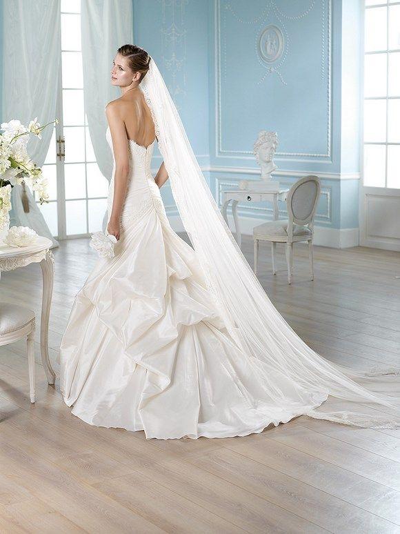 HALLER / Wedding Dresses / Glamour 2014 Collection / San Patrick (back)