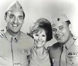 """Gomer Pyle USMC"" (1964-9) - Jim Nabors and Frank Sutton starred. Funny TV show."