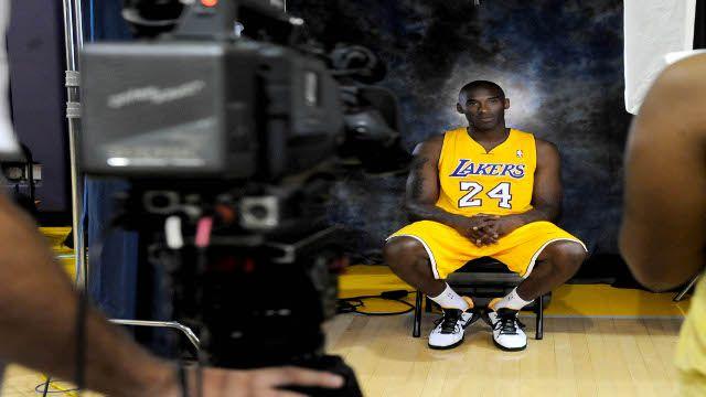 Kobe Bryant Injures Foot, Being Held Out Of Practice