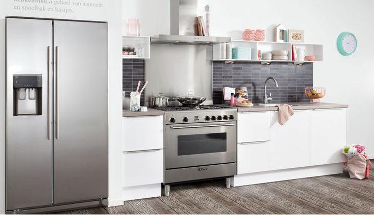 Eiken Keuken Wit Verven : 25+ beste ideeën over Witte Hoogglans Keuken op Pinterest