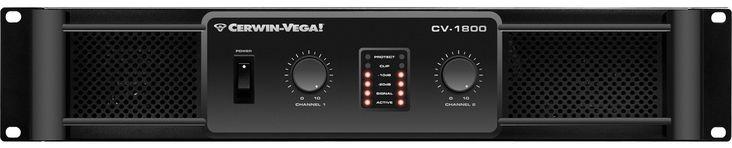 Power amplificador CV-1800 Cerwin Vega Amplificador de alto rendimiento para bafles medios de frecuencia media de alta potencia. Soporta hasta 900 Watts a 2ohms.  Caracteris...