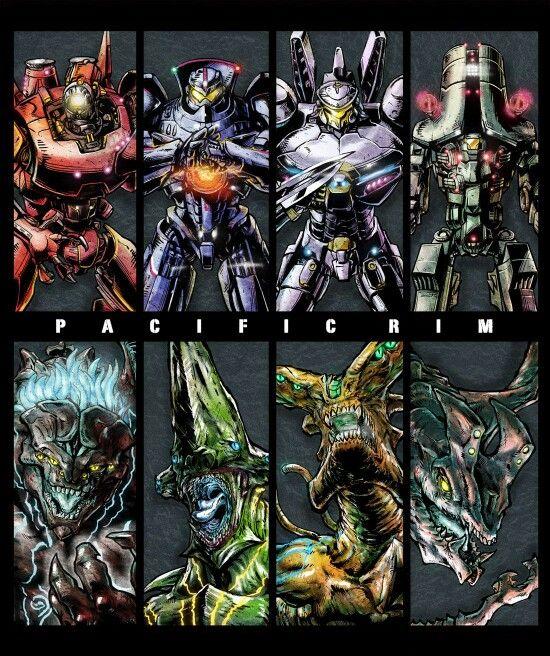 Pacific Rim Kaiju Poster 154 best I ♥ Jaegers...
