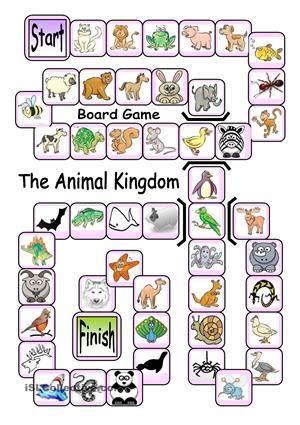 Board Game - The Animal Kingdom