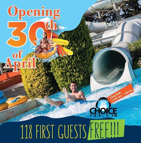 One week to go before Fasouri Waterpark opens for 2017! #fasouri #summer2017 #cyprus #limassol #fasouriwaterpark https://plus.google.com/+PissouribayCyp/posts/2uJWQ6h5bkw