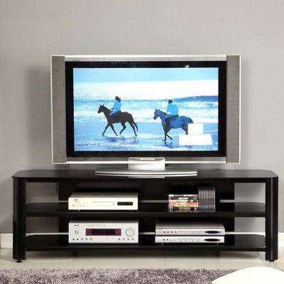 dCOR design Glass TV Stand