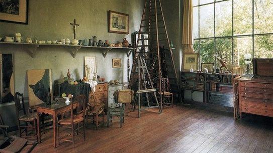 Paul Cézanne's studio