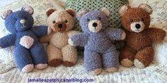 Tutoriel pour tricoter un ours peluche..