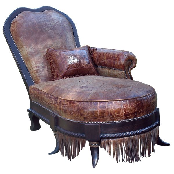 11 best chaise lounges images on pinterest chaise for Chaise western