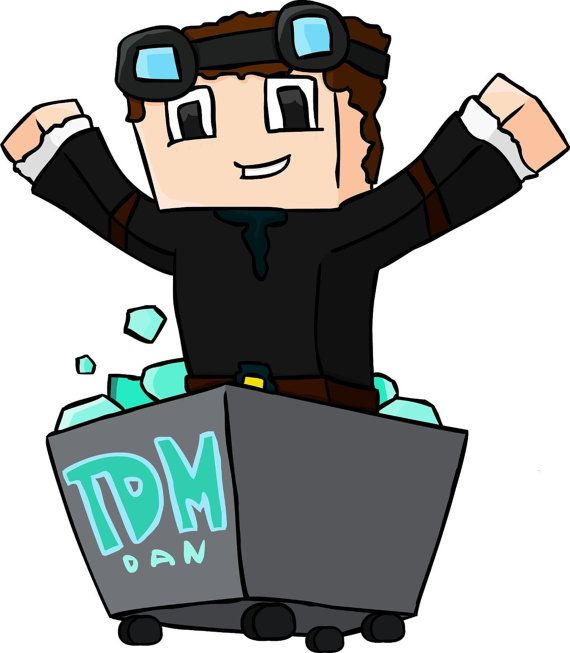 78 best dantdm pics images on pinterest minecraft stuff - Diamond minecart theme song ...