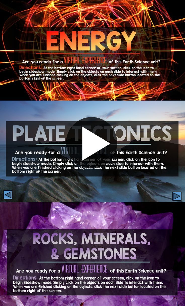 Elementary students LOVE these Interactive Powerpoints! Earth Science Curriculum with 10 different units