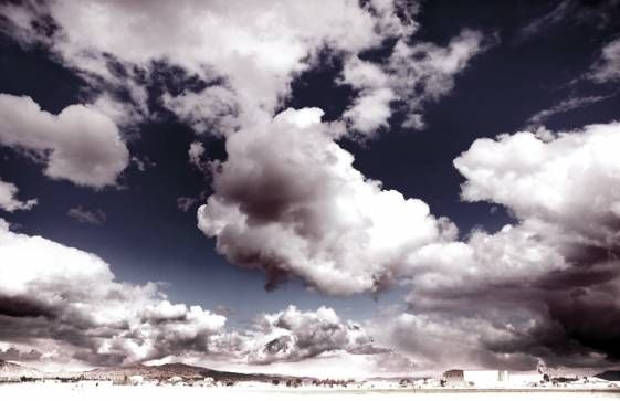 Les Nuages Limited Edition Photograph - Mecox Gardens