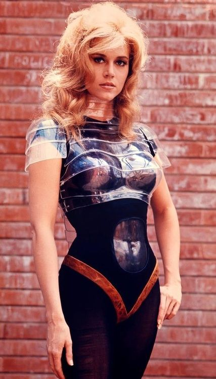 Jane Fonda for 'Barbarella', 1968.