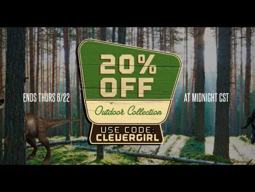 20% off the Outdoors Collection at The Chivery