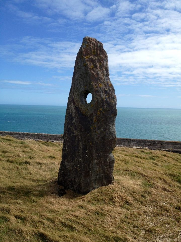 Years ago people in Ireland got married or renewed their wedding contracts (annually) by joining hands through the Stone of Accord on the Old Head in Kinsale in county Cork, Ireland.