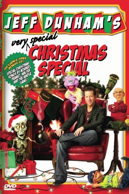 Jeff Dunham - Very Special Christmas Special  Description: Jeff Dunham's Very Special Christmas Special is de derde special van komiek en buikspreker Jeff Dunham. De show is opgenomen in Milwaukee Wisconsin. De dvd kwam uit op 18 november 2008. Dunham bracht ook zijn eerste muziekalbum uit Don't Come Home for Christmas op 4 november 2008. Op de cd staan bekende kerstliedjes maar ook Jingle Bombs van Achmed the Dead Terrorist. Alle liedjes werden geschreven door Brian Haner die recent Dunhams…