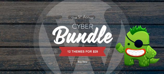 Mojo Themes is one of the most biggest marketplace for WordPress & other themes & starting today they have an huge promotion called 5th Annual Cyber Bundle.