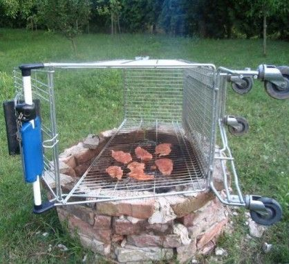 Shopping Cart Barbecue