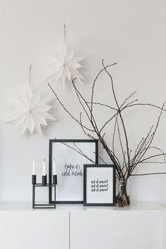 Unser neues Zuhause {Wohnzimmer im Advent} | Dreierlei Liebelei | Bloglovin'