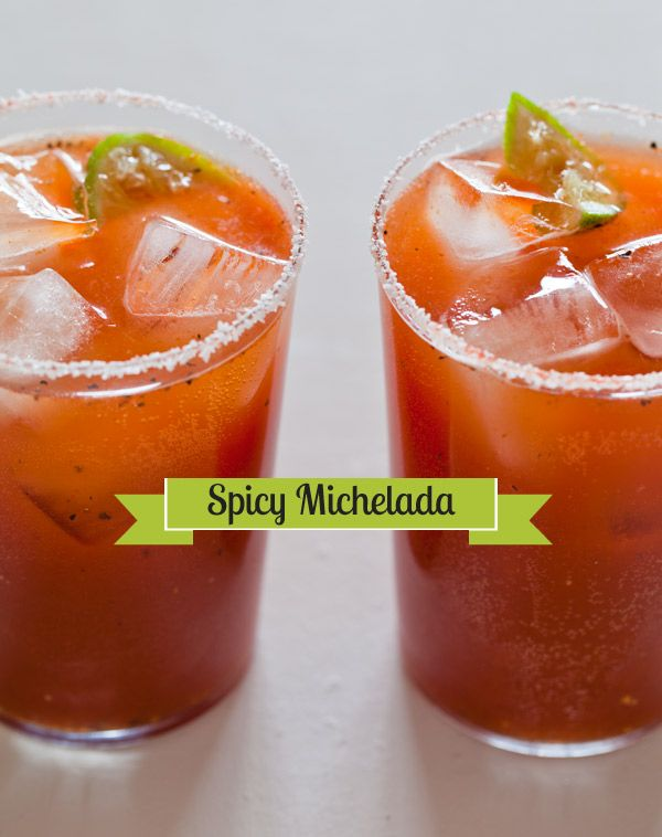 Spicy MicheladasMexicans Style, Hot Food, Hot Hot, Yummy Things, Spicy Michelada, Food And Drinks, Michelada Recipe, Brunches Recipe, Hot Sauces