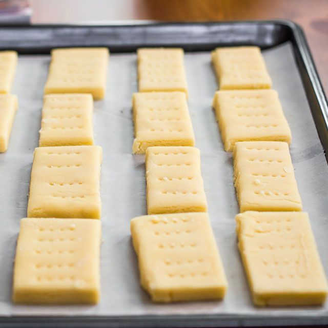 Classic Shortbread Cookies...I generally use brown sugar or 1/2 powdered sugar 1/2 cornstarch instead of all powdered for less sweet
