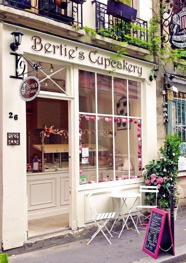 Bertie S Cupcakery 26 Rue Chanoinesse Ile De La Cite