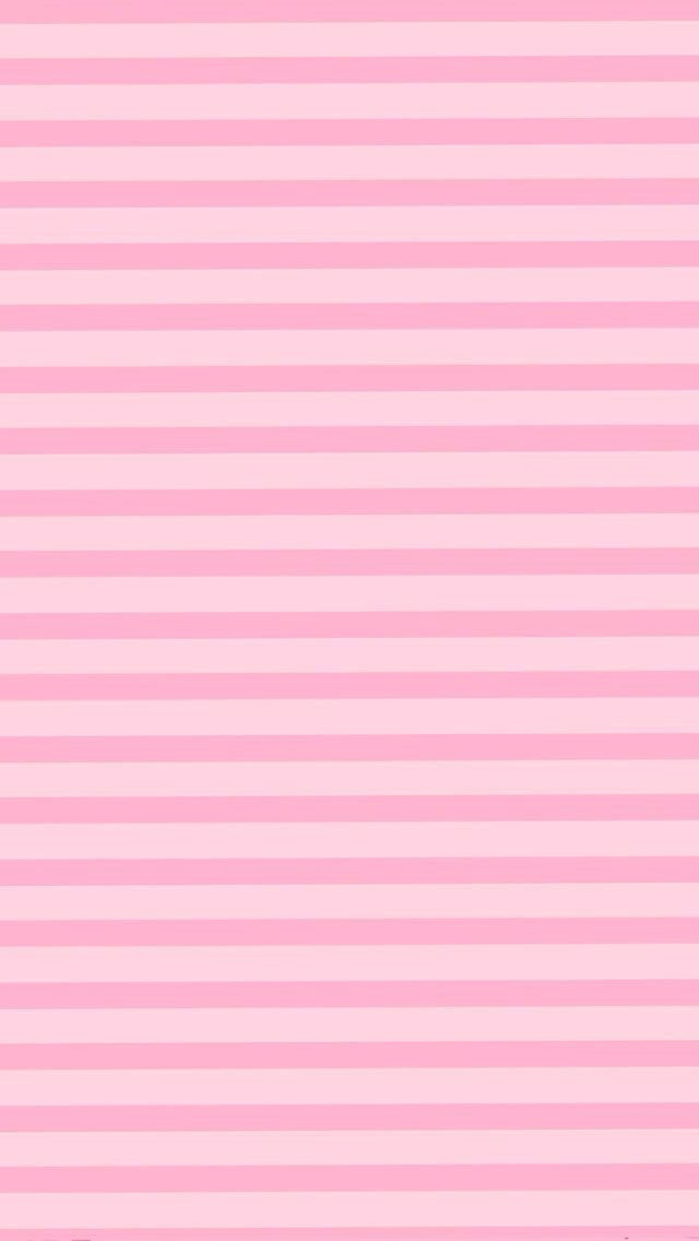 Victorias Secret Pink Stripes iPhone 5 Wallpaper