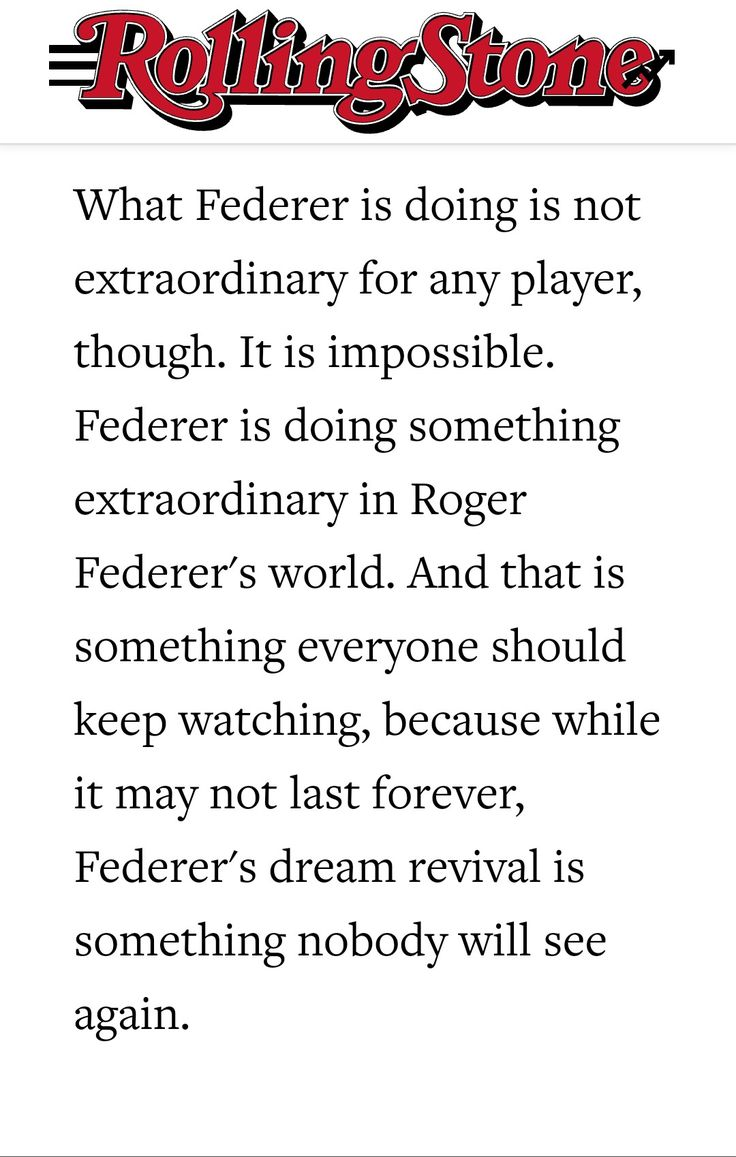 Roger Federer Greatest of all time!