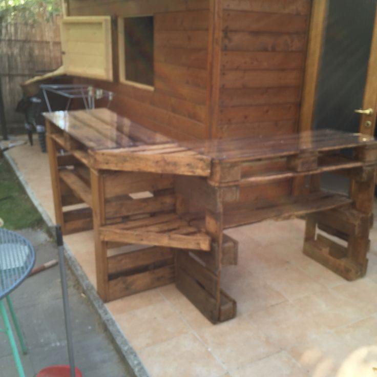 ... Design for pallet in the garden on Pinterest  Pallets, Piano and Bar