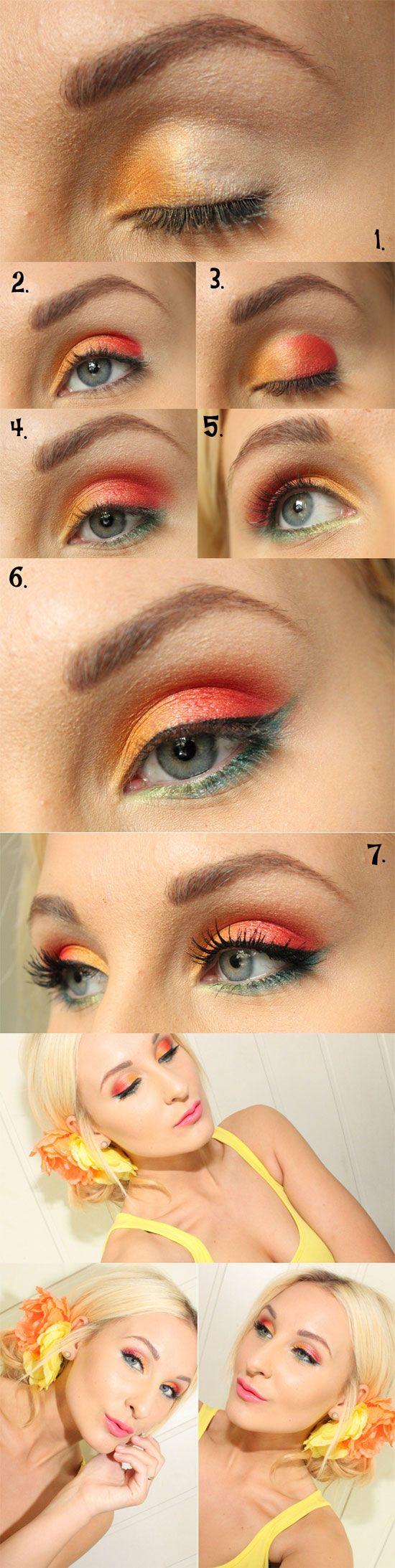 Amazing Yet Inspiring Eye Make Up Tutorials 2013 For Girls   Girlshue
