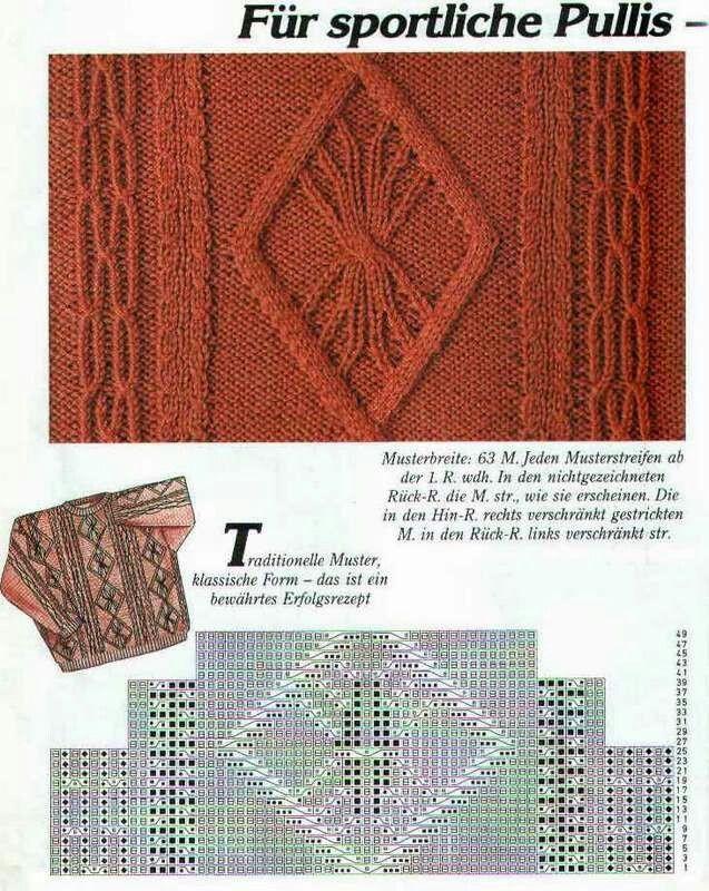 Irish Knit Stitch Patterns : 137 best images about KNITTING ARAN & CABLE & IRISH on Pinterest Ir...