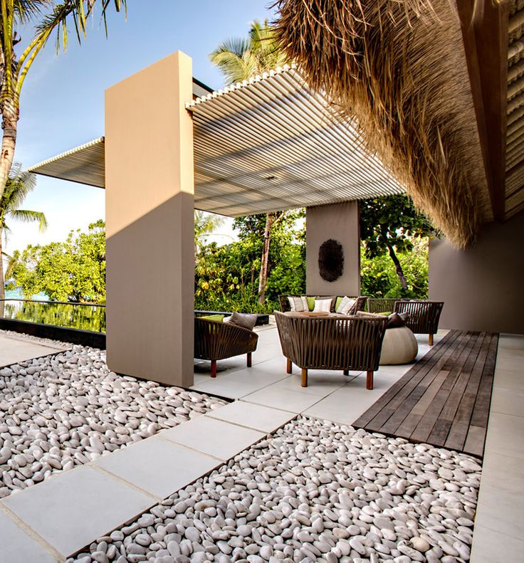 16 best images about pierre naturelle natural stone for Jardin terraza