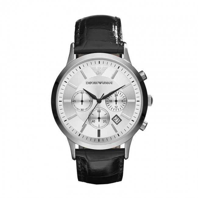 Emporio Armani - Zwart - Horloge