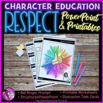 This respect unit is a crucial element for strengthening the core curriculum and ensuring our students are able to show respect towards others to develop strong relationships and a positive reputation.This would be especially useful to use as a one-off lesson or top up reminder if you are finding your class are starting to lack respect, perhaps towards one another or even to staff.Product includes: 18 slides of Respect PowerPoint - fully structured so no prior experience is required to…