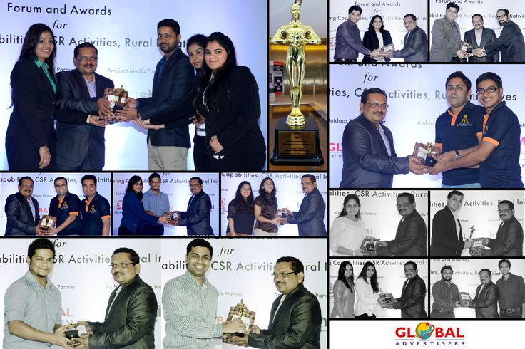 "Cherishing Moment, Our MD Mr. Lion Sanjeev Gupta won ""OOH Marketing Professional of The Year"" award by Asian Customer Engagement Forum & Awards (ACEF). #Award2016 #OutdoorMedia"