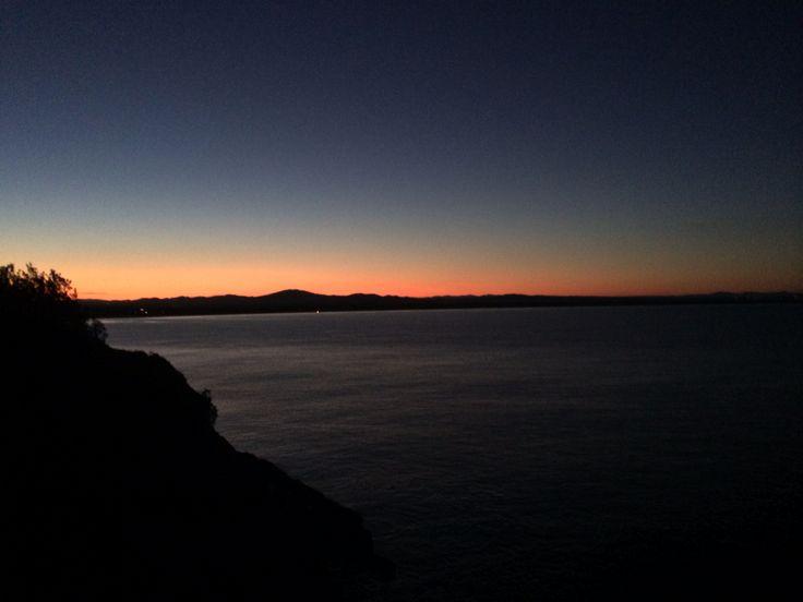 Forster sunset
