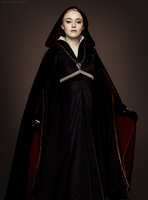 Volturi are a lot more scary in the final movie than in the previous ones