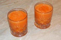 Sucul de morcov ananas si telina
