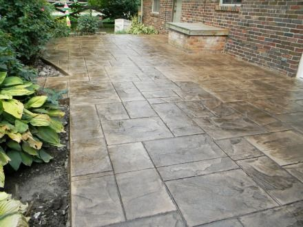 Learn all about finishing techniques on concrete here on this site! Amazing how nice it can look!