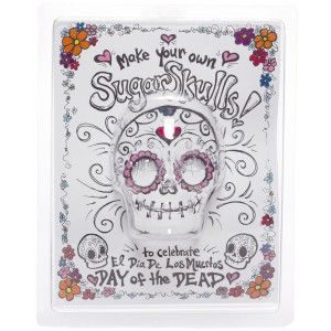 MAKE YOUR OWN SUGAR SKULL MOLD
