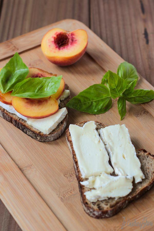 Sandwich au Brie et Pêche - Ze CookingShow