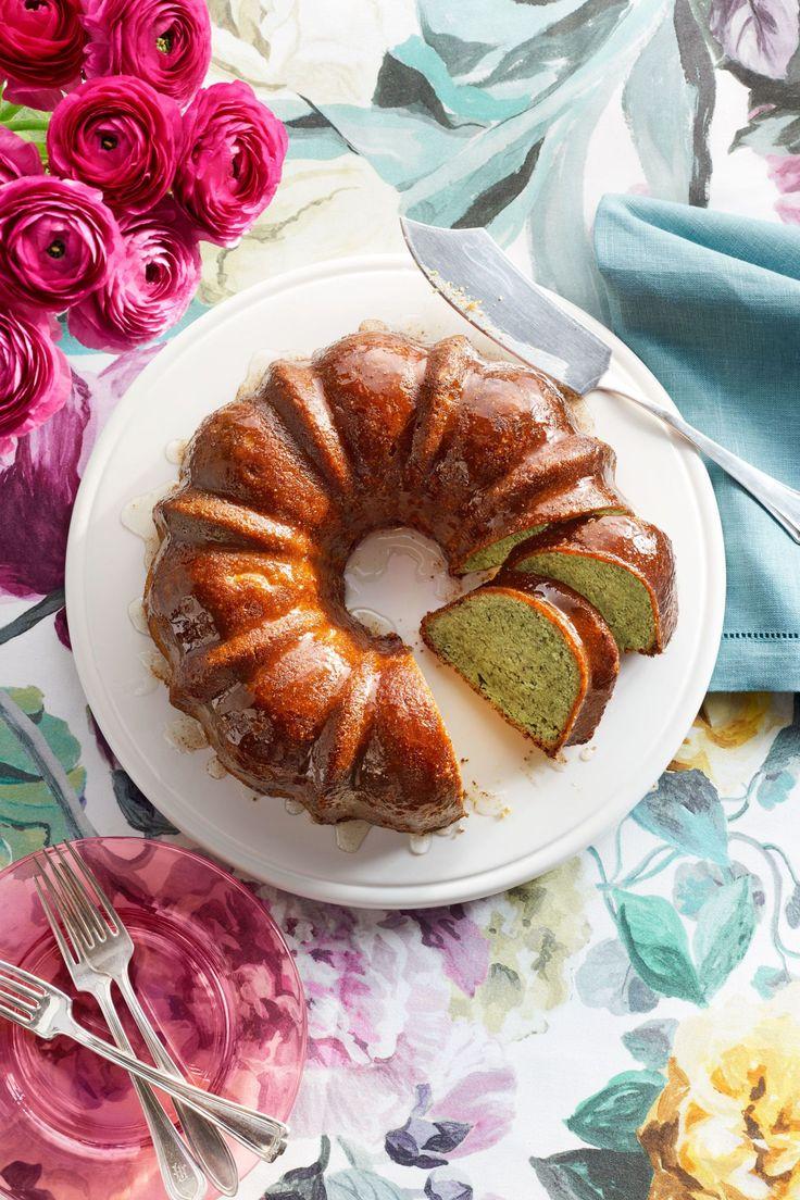 Pistachio-Lemon Bundt Cake  - CountryLiving.com