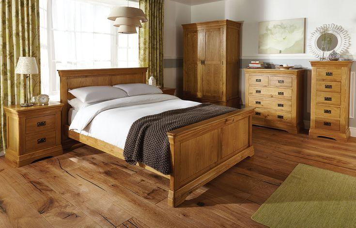 Oak bedroom furniture room set