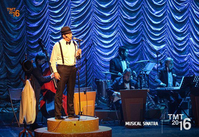 Felipe Castro como Sinatra, Teatro Municipal Temuco 2016