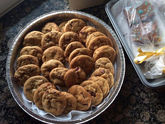 Strawberry chocolate cookies by Sukkasilla, via Flickr