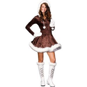 teen girls cutie pie eskimo costume