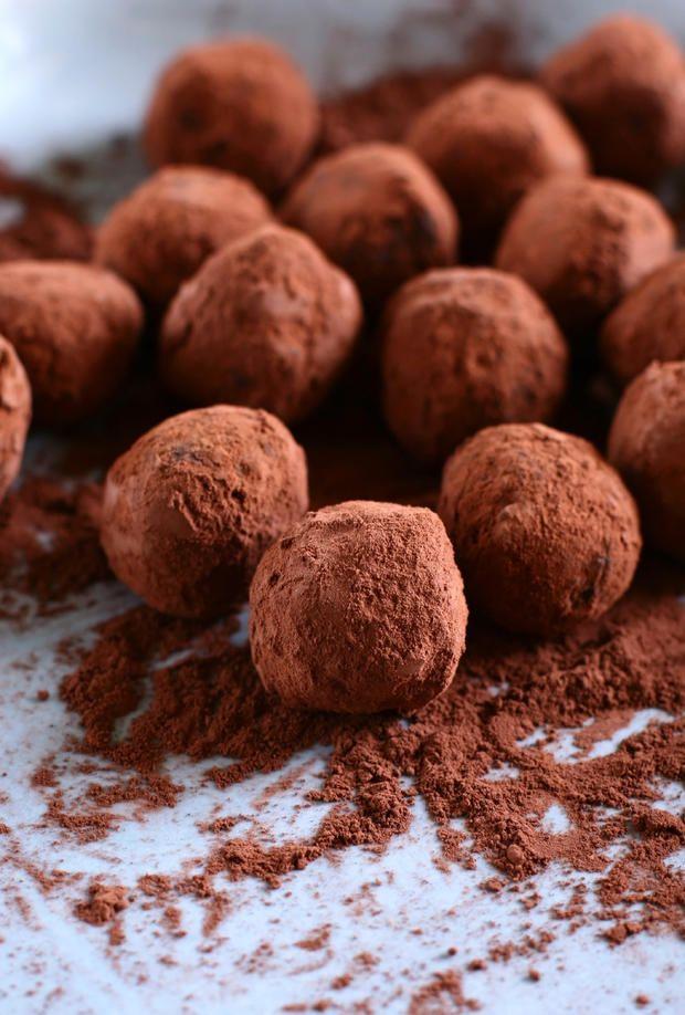 Schokotrüffel selbstgemacht #rezept #schokolade