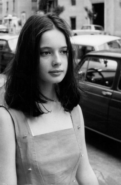young Isabella Rossellini