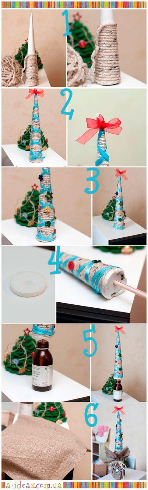 Handmade ideas: DIY: Christmas tree